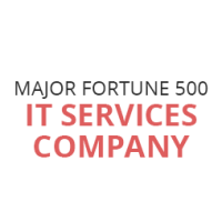 Major Fortune 500 IT Services Company