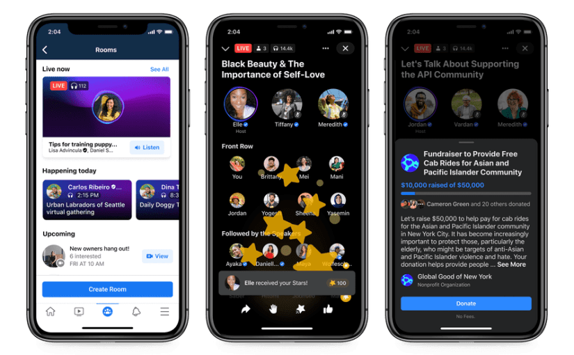Facebook's New Audio Features