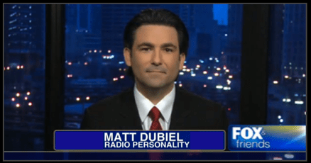 Matt Dubiel on Fox News Channel