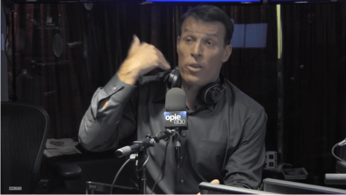 Hack the media like tony robbins matt dubiel