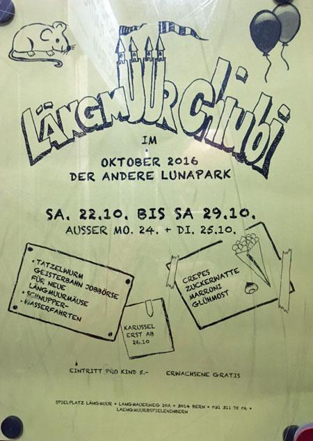 Flyer Längmuur Chiubi 2016