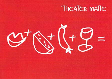 Postkarte Theater Matte Eröffnungsfest 2014