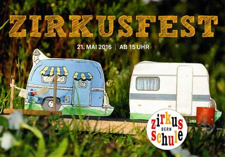 Flyer Zirkusfest