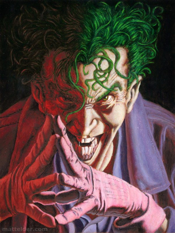 DC Comics Batman Joker Art