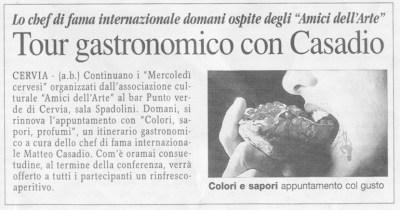 Articolo La Voce 2009