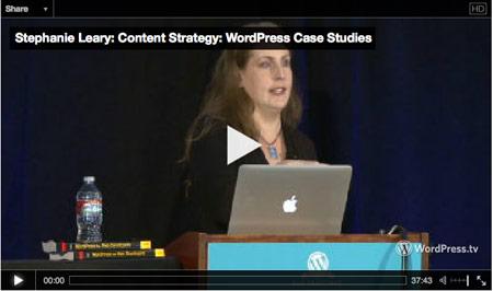 WordPress as a Content Strategy platform