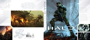 Halo: The Art of Building Worlds cover