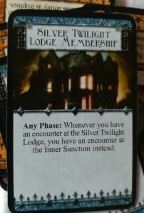 Arkham Horror 2005 Silver Twilight Lodge