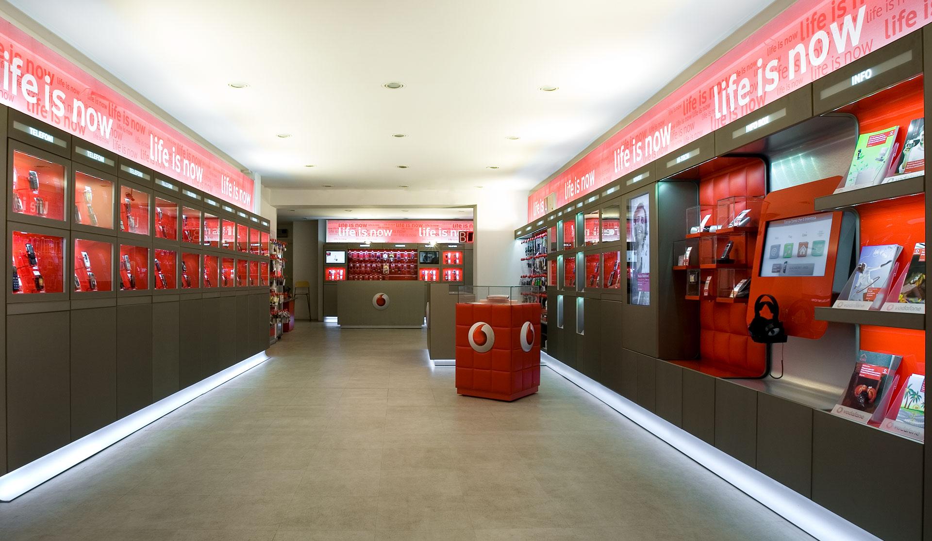 Retail system, Vodafone | Matteo Thun & Partners