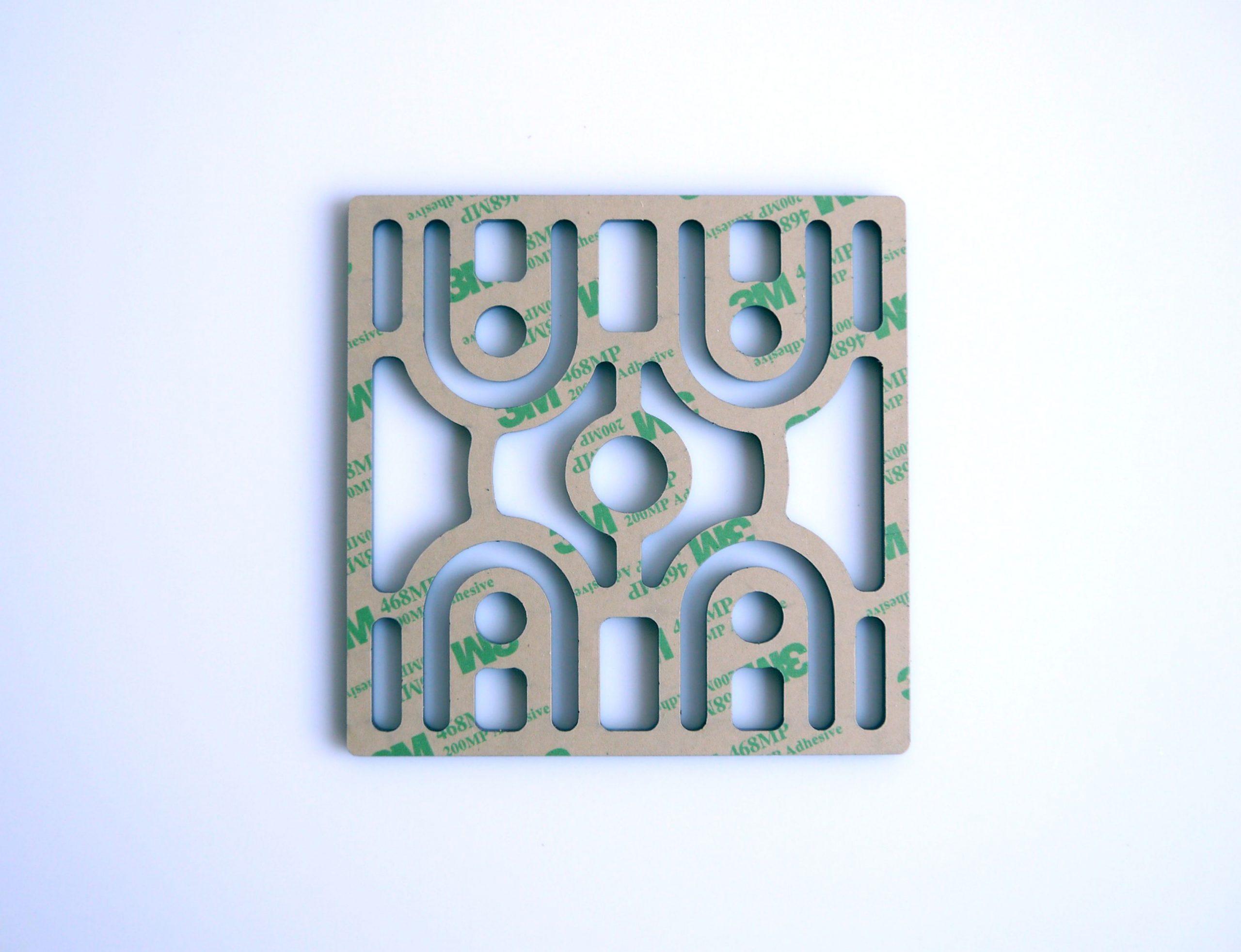 plaque decorative art deco modele gate gm