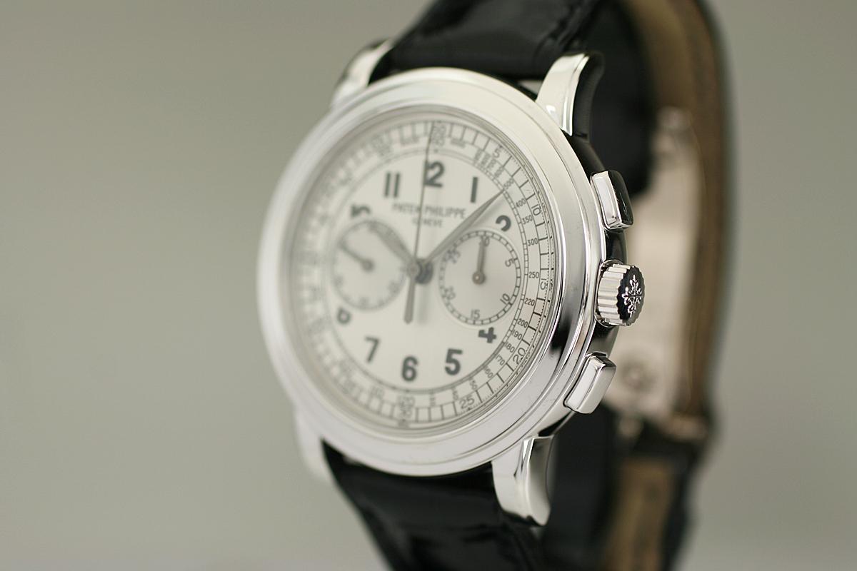 2000 Patek Philippe Chronograph Ref 5070 Watch For Sale - Mens Modern Chronograph
