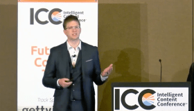 Matthew Balogh Speaking at Intelligent Content Conference 2017
