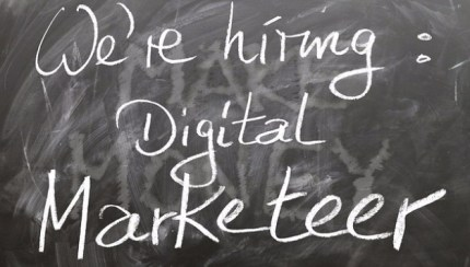 We're hiring: Digital Marketer