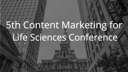 5th Content Marketing for Life Sciences Conference