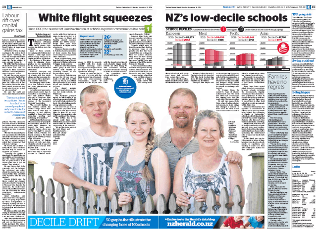 NZ Herald White flight