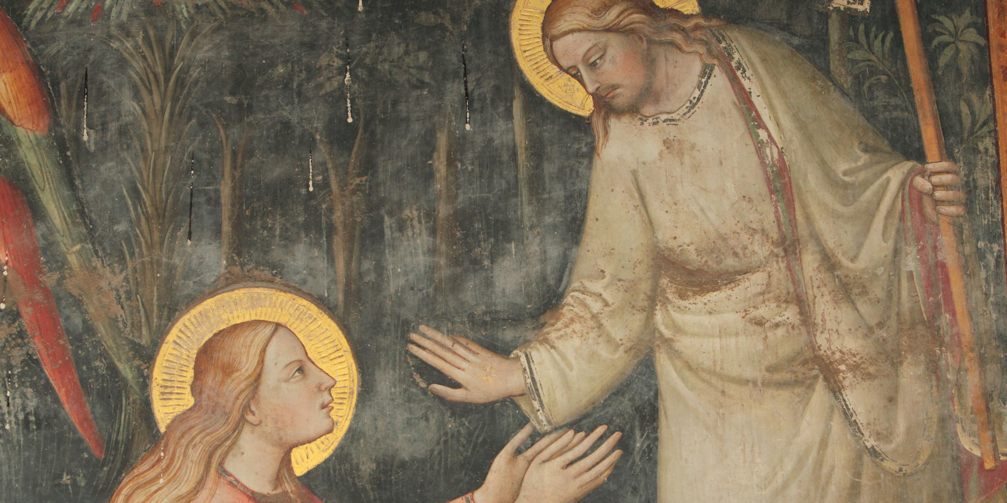 "jesus and mary magdalene ""no one has ever asked me how it feels,"" says jesus christ to mary magdalene, his voice soft and rapt, in response to her similarly tremulous question about oneness with godmidway through ."
