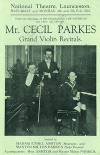 Albert Parkes, Cecil Parkes, Milton Parkes
