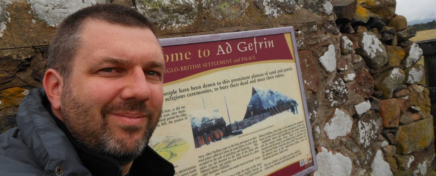 Matthew Harffy at Gefrin