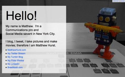 MattHurst.com website