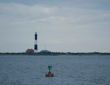 Fire Island Light from the water