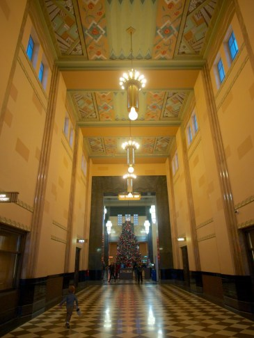 run down the hall to the Great Hall