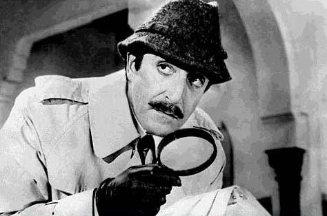 Peter Sellers aka Inspector Clouseau