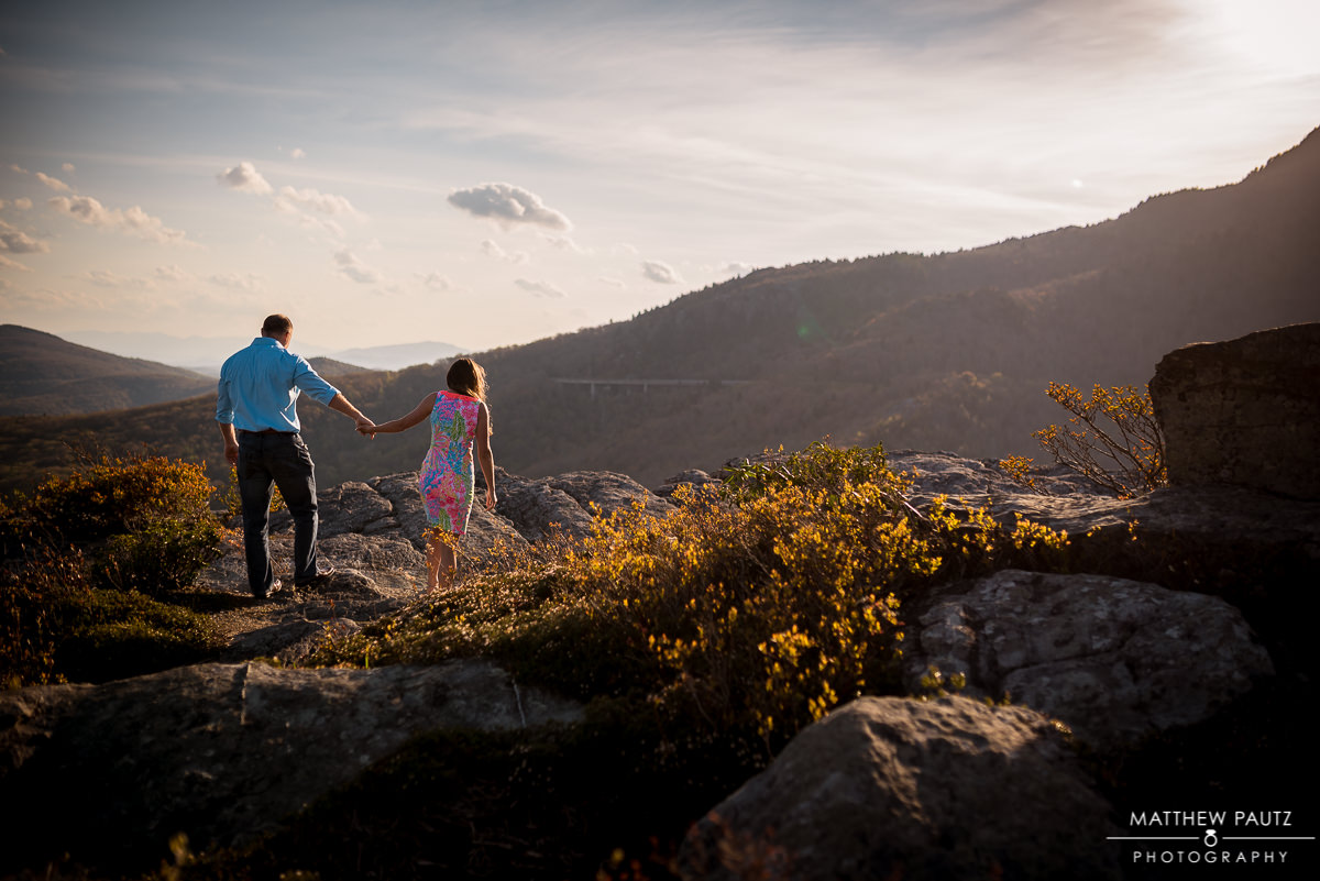 Blue Ridge Mountain Engagement Photos  Matthew Pautz Photography