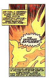 The Teardrop Explodes Daredevil panel