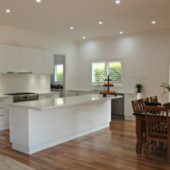 Kitchen Island Bench Cheap Carts Sale Ballarat Kitchens Custom Cabinetry Design White Gloss