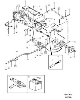 Electrical Wiring Diagram Volvo 544