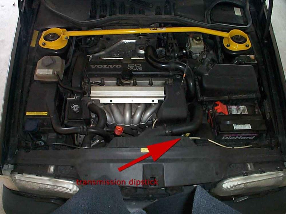 medium resolution of volvo repairs fixes transmission dipstick location no