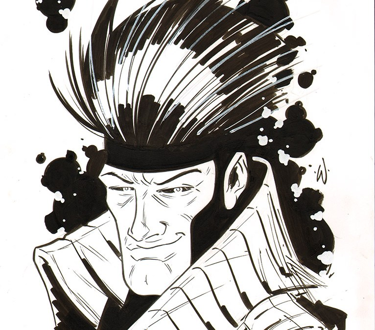 Summer Art Dump: Gambit Commissions