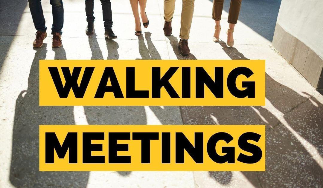 The Surprising Benefits of Walking Meetings