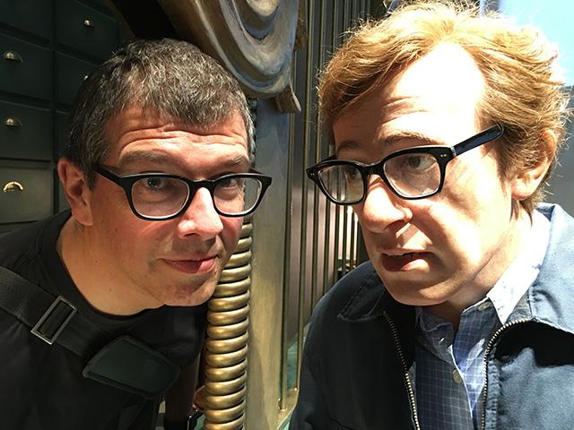 Wer hätte nicht gerne ein Selfie mit Woody Allen…