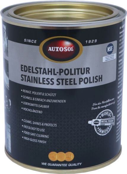 autosol stainless steel polish autosol can of 750 ml