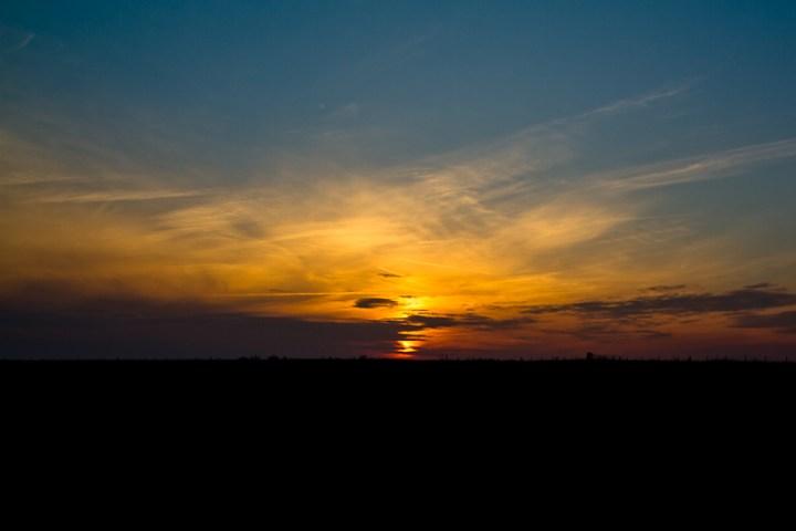 Solnedgång Ale stenar