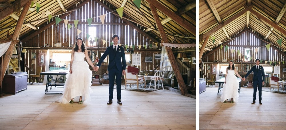 Swedish barn wedding