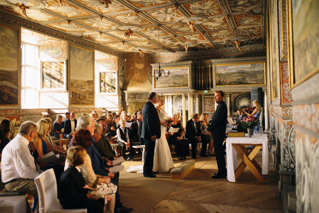 bröllop läckö slott kungssalen