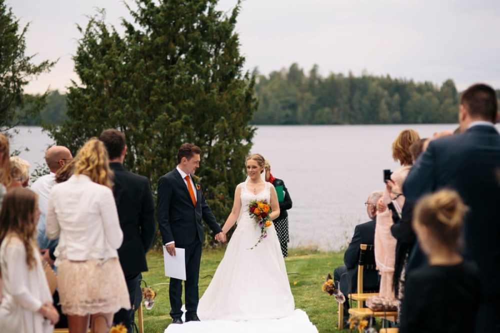 bröllop två skyttlar