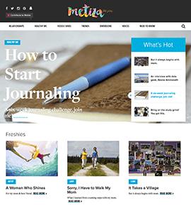 Metiza Magazine - Desktop Home Page
