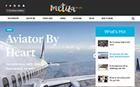 Web Development on Metiza.com, an Online WordPress Magazine for Teen Girls