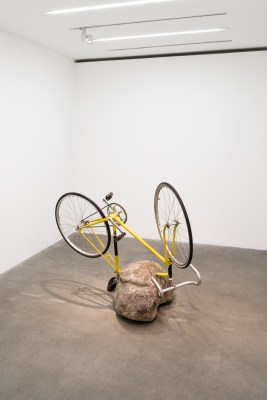 Stone with Bicycle, 2013
