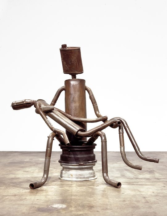 Pieta, 2006 Bronze and patina 64 x 58 x 40 inches