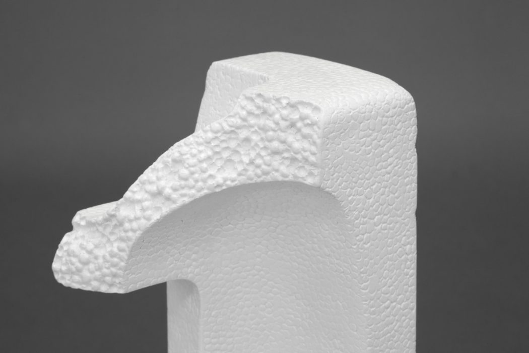 Still Life #2 (Balancing Styrofoam Corner on a Tape Roll), 2016 Detail
