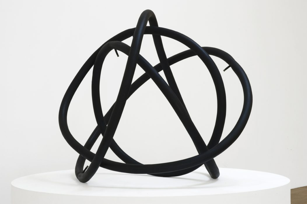 Electron, 2010 Bronze with patina 36 x 36 x 29 inches