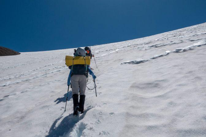 Hiking up the Interglacier