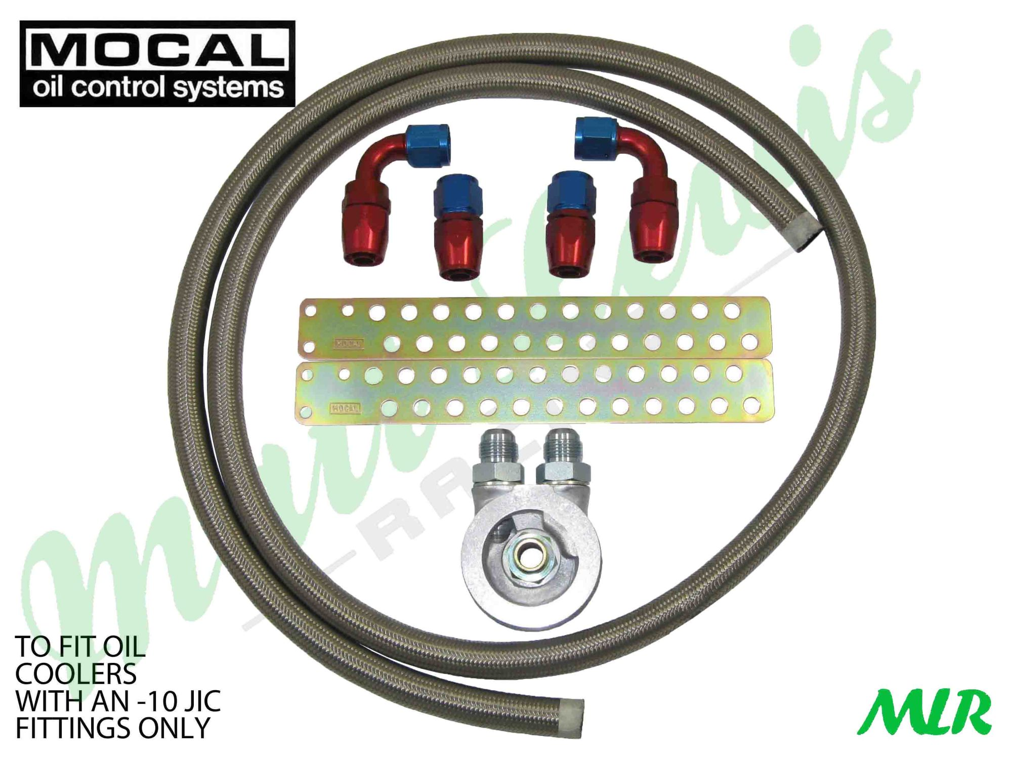 hight resolution of mocal an 10 jic stainless steel braided hose oil cooler fitting kit audi tt a3 s3