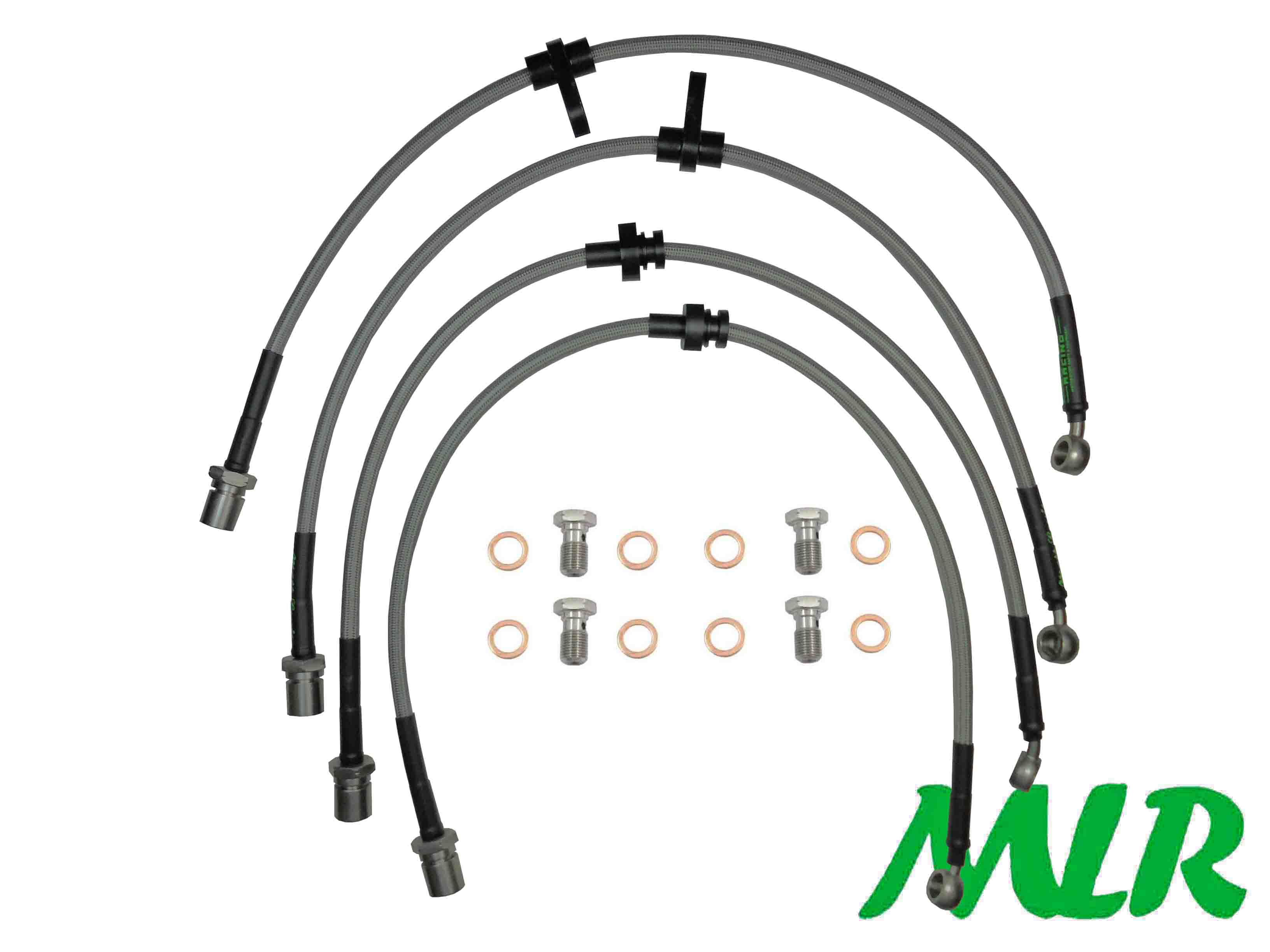 MLR Braided Brake Line Hose Kits > Brake Parts > Main