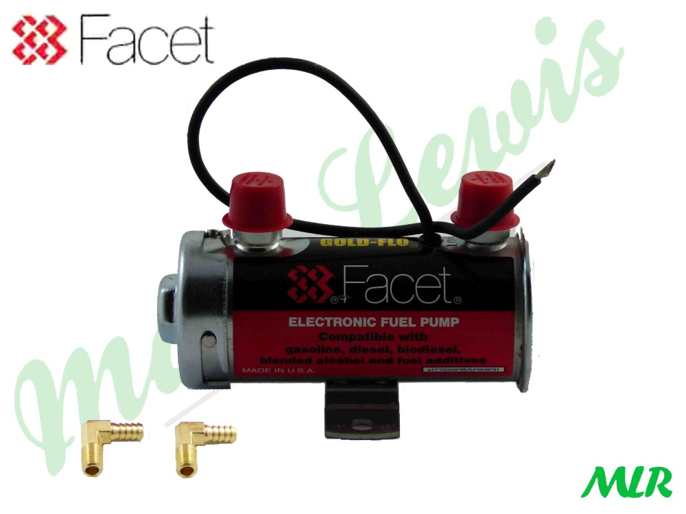 medium resolution of facet red top 8mm electric fuel pump 200bhp