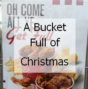 Bucket full of Christmas